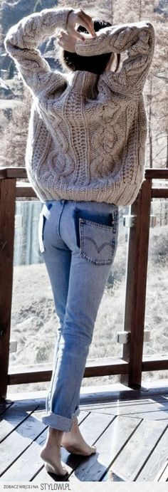 Ideas For Knitting Patterns Chunky Sweater Jumpers Source by janeritchhart Sweaters Holiday Fashion, Autumn Winter Fashion, Holiday Style, Fall Fashion, Fashion Women, Style Fashion, Fashion Design, Skandinavian Fashion, Winter Outfits