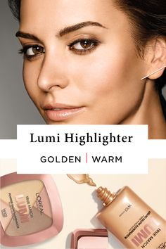 L'Oréal Paris introduces its first liquid highlighter specifically crafted to highlight key features or illuminate all-over. Golden Illuminator enhances peachy or yellow tones in warm skintones. PRO TIP: Warm undertones look best with gold jewelry