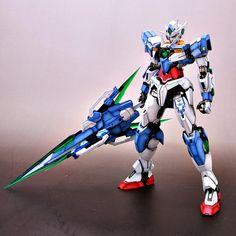 GUNDAM GUY: MG 1/100 00 Qan[T] - Customized Build