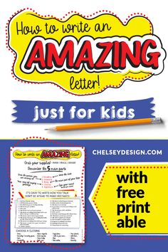 Move aside Mom and Dad! Your kids are going to write some amazing letters! Get a free printable and 25 awesome ideas to get your kids inspired and writing amazing letters! Kids Writing, Letter Writing, Writing Skills, Gruffalo Activities, First Week Activities, Letters For Kids, Kids Inspire, Cool Lettering, Exercise For Kids