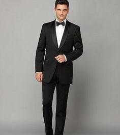 REVEL: Slim Fit Tuxedo Jacket