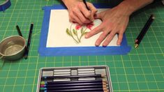 Inktense Color Pencils....my future addiction!!!