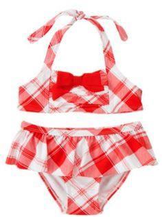 Capable 2019 Toddler Floral Bikini Set Kids Baby Girl Tanikini Suit Bowknot Flamingo Swimwear Beachwear Swimming 1-6y 2019 Official Swimwear