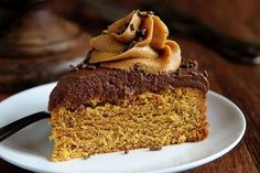 Peanut Butter Cake with Rich Chocolate and Peanut Butter Frosting! #peanutbuttercake #cake ~ http://iambaker.net