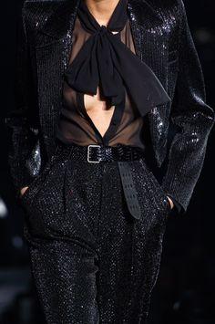 Saint Laurent at Paris Fashion Week Spring 2020 - Details Runway Photos Haute Couture Paris, Chic, Nice Dresses, Saint Laurent, Fashion Show, Glamour, Gowns, How To Wear, Outfits