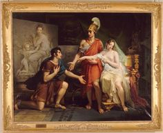 Premium Thick-Wrap Canvas entitled 'Alexander the Great BC) Hands Over Campaspe to Apelles, Alexander the Great BC) Hands Over Campaspe to Apelles, 1822 (oil on canvas); by Meynier, Charles Musee des Beaux-Arts, Rennes. Alexandre Le Grand, Oil On Canvas, Canvas Prints, Big Canvas, Art Gallery, Alexander The Great, Old Master, Master Art, Belle Photo
