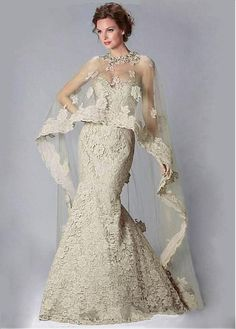 Buy discount Graceful Lace Sweetheart Neckline Mermaid Evening Dresses With Beadings & Lace Appliques at Dressilyme.com