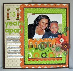 A Project by Robyn Weatherspoon from our Scrapbooking Gallery originally submitted 07/05/09 at 03:25 PM