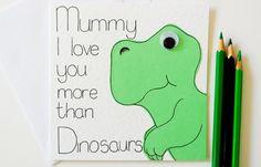 Greeting Card   Mummy I love you more than by SamfireGreetingCards, £2.50