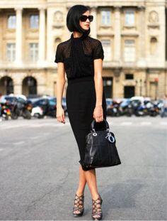 Black - sleek - elegant