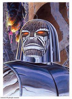 Darkseid by Giorgio Comolo