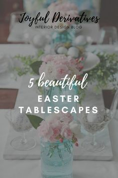 Easter tablescapes /