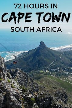 72 hours in Cape Town, South Africa Planning your first visit to Cape Town, South Africa? Here are ideas on what to do in Cape Town with or 5 days in the city. Foto Poster, Le Cap, Cape Town South Africa, East Africa, Africa Travel, 72 Hours, Travel Around The World, Cool Places To Visit, Adventure Travel