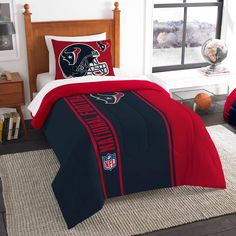 The Northwest Company Houston Texans Soft & Cozy 2-Piece Twin Bed Set