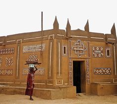 Africa | Typical architecture in Zinder, Niger | © via valtram, via flickr