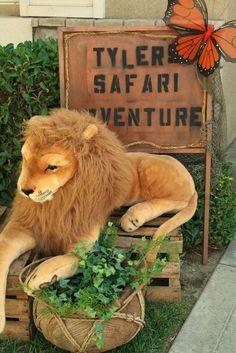 Jungle Safari Birthday Party Ideas | Photo 6 of 49 | Catch My Party