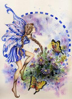 Aster by Sarah Pauline - Fairies - Fée - Fee- Fe - Hadas - Fairy - 妖精 - älva - фея - keijukainen - परी - 요정 - 仙女 - fata - tylwyth teg -tündér