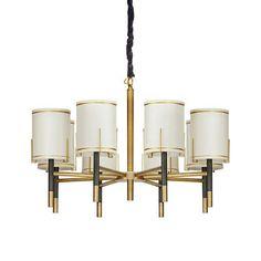 美式乡村简约新古典欧式样板房客厅卧室书房设计师样板房灯吊灯-淘宝网