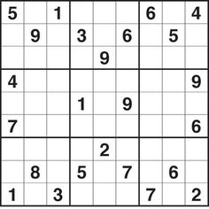 Printable Easy Sudoku on Sudoku Printable Puzzles   Click In The Categories Alongside To Print