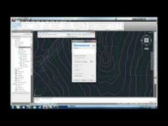 5- Create a Graded Surface in Civil 3D