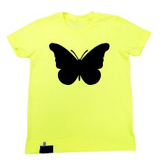 Wings Chalk Tee Youth Yellow now featured on Fab.