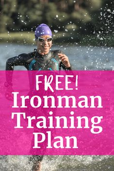 Need some fitness inspiration? Want to take on a big fitness challenge? Try triathlon training! Did you know in less than a year you could complete an Ironman?! Find a free Ironman triathlon training plan here. #triathlon #fitness #fitspo #ironman #trainingplan #fitnesschallenge