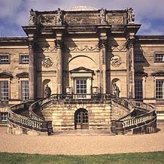 One of my favorite seats in England, Kedleston Hall, Derbyshire, 1760s, by Robert Adam