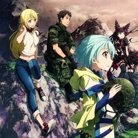 """Crunchyroll - """"Gate - Thus the JSDF Fought There!"""" TV Anime Visual, Character Designs and Schedule Updated"""