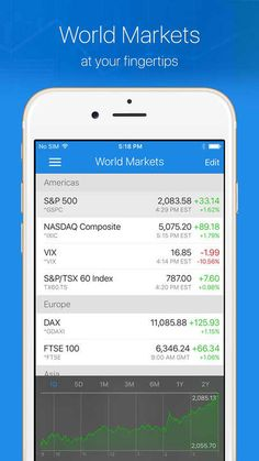 Ticker : Stocks Portfolio Manager for Investors on the move - iOS Store Store Top Apps | App Annie