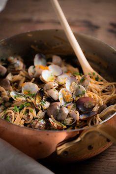 spaghetti con vongole e…