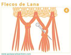 Los flecos son un elemento decorativo para terminar algunas labores y prendas. Son muy utilizados para remates de bufandas, prendas de fanta...