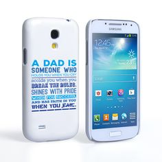 Caseflex Definition of a Dad Quote Samsung Galaxy S4 Mini Case | Mobile Madhouse