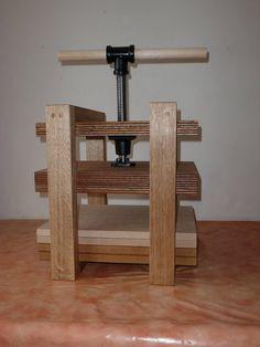 £19 veneer press