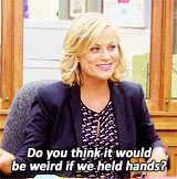 """"""" do you think it would be weird if we held hands ? """" -- TAGS: siblings, relationship, character, loving, frenemies"""