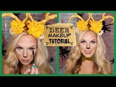 Deer Makeup Tutorial   Lindsay Makeup
