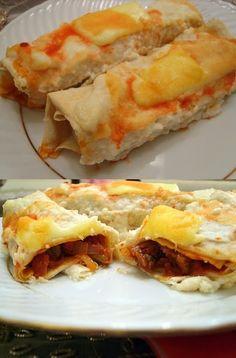 Beef Enchiladas with Bechamel Sauce | Food'n Drink Recipes