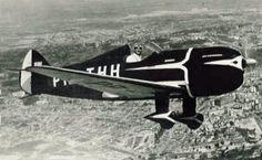 Avião Besouro, projeto IPT, 1938. Campo de Marte