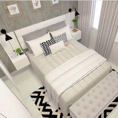 The Best 2019 Interior Design Trends - Interior Design Ideas Home Room Design, Bed Design, Home Interior Design, Living Room Interior, Home Decor Bedroom, Living Room Decor, Couple Room, Dream Rooms, House Rooms