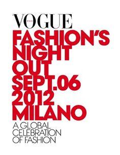 vogue fashion night out settembre 2012 milano