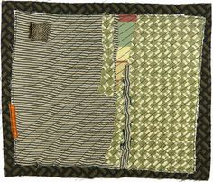 Karen Anne Glick - 1032012 small art quilt contemporary abstract