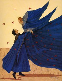 2002 Anne Romby (French 1959) ~ Peau d'Âne