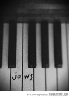 The only thing I use my piano for…