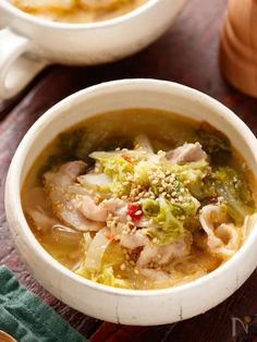 Asian Recipes, Ethnic Recipes, Japanese Food, Cheeseburger Chowder, Thai Red Curry, Ramen, Side Dishes, Soup, Chicken