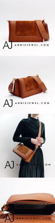 GENUINE LEATHER HANDBAG SHOULDER BAG MINIMAL BAG CROSSBODY BAG CLUTCH PURSE FOR WOMEN