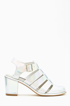 Lynn Hologram Sandal by Miista