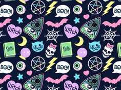 Spooky Babe by Jade Boylan Witchy Wallpaper, Halloween Wallpaper Iphone, Fall Wallpaper, Halloween Backgrounds, Cute Backgrounds, Lock Screen Wallpaper, Phone Backgrounds, Cute Wallpapers, Wallpaper Backgrounds