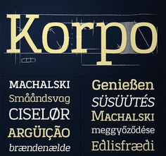Korpo Serif Font (10 Variants) - from only $7! - MightyDeals