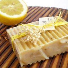 Como fazer sabonete de limão