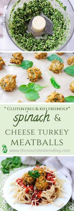 These meatballs are a great dish to pair with noodles, on a sandwich, or just to eat by themselves! Rich with iron and nutrients from turkey and spinach, these are perfect for all!