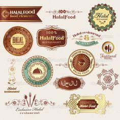 halal foods label